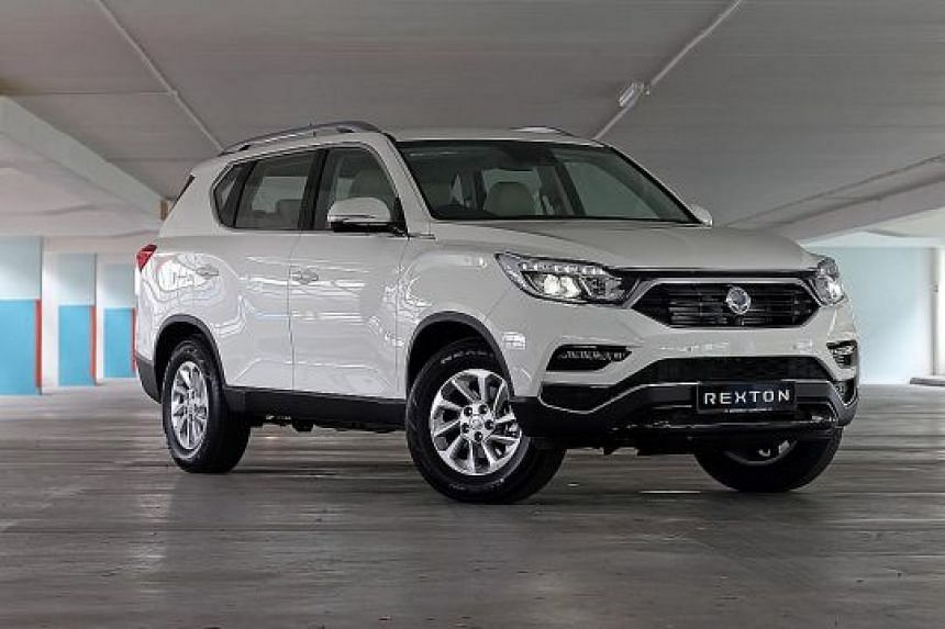 The Ssangyong Rexton comes with a 7-inch infotainment touchscreen with navigation, reverse camera and Bluetooth connectivity.