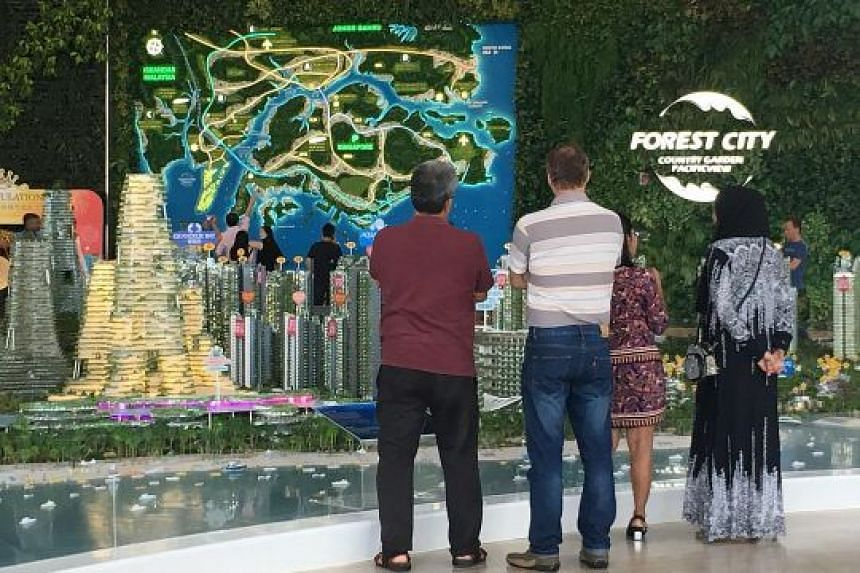 Chinese developer Country Garden Pacific View responded to criticism that its RM444 billion (S$150 billion) investment in property project Forest City did not benefit locals by announcing last year that more than 40 per cent of its capital expenditur