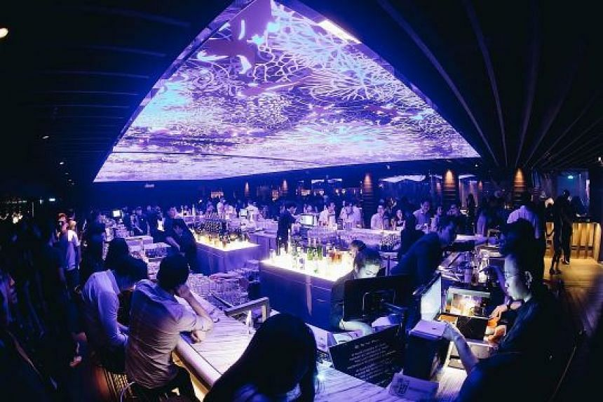 Women get free flow of selected cocktails, wine and housepours from 9pm to 1am at Capital Thursdays at Zouk.
