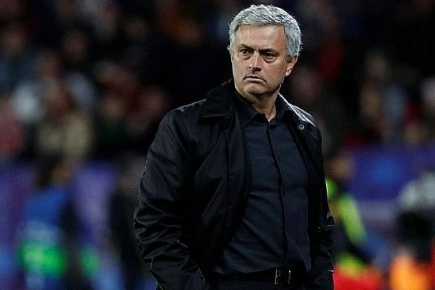 Manchester United manager Jose Mourinho will welcome former team Chelsea and Antonio Conte, with whom he was recently at loggerheads, to Old Trafford knowing the Premier League title is beyond the reach of both teams who began the season as title con