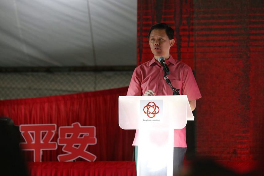 "Minister in the Prime Minister's Office Chan Chun Sin said keeping half of Singapore's earnings from its reserves signals the ""strength of the Singapore dollar"" to currency markets."