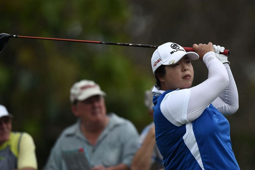 Feng Shanshan has an 11-under total of 205 after the third round, and is joint ninth.