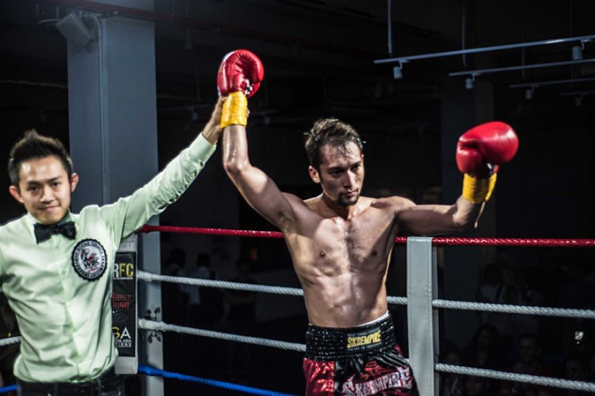 Local professional boxer Hamzah Farouk earned the nod from all three judges after the six-round fight at The Ring Boxing Community on Feb 23, 2018.
