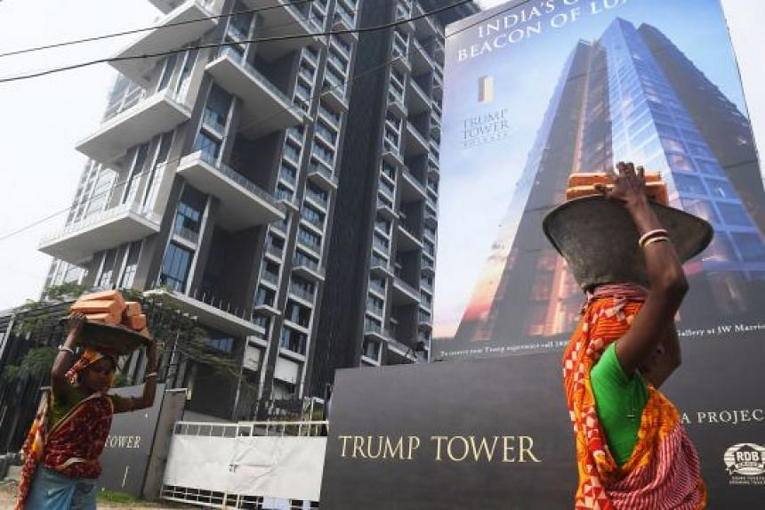 Among the things Mr Donald Trump Jr did during his trip to India was to launch Trump Tower in the eastern city of Kolkata on Wednesday. The building, which has 137 apartments, is still under construction.