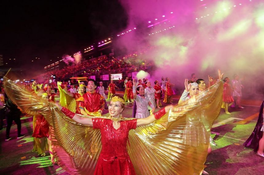 About 6,500 performers took part in this year's Chingay celebrations.