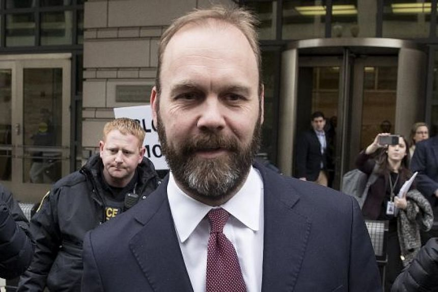 The plea deal could be a sign that Rick Gates (above) plans to offer incriminating information against Paul Manafort and possibly other members of the Trump campaign in exchange for a lighter punishment.