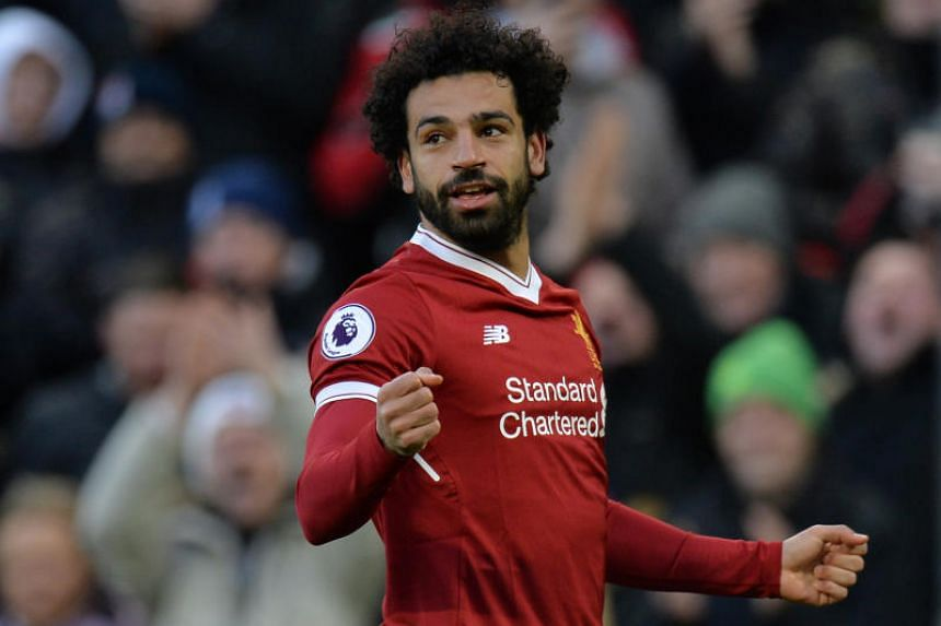 Salah doubled Liverpool's lead when he steered a shot into the far corner on his favoured left foot after the break from Alex Oxlade-Chamberlain's through ball.