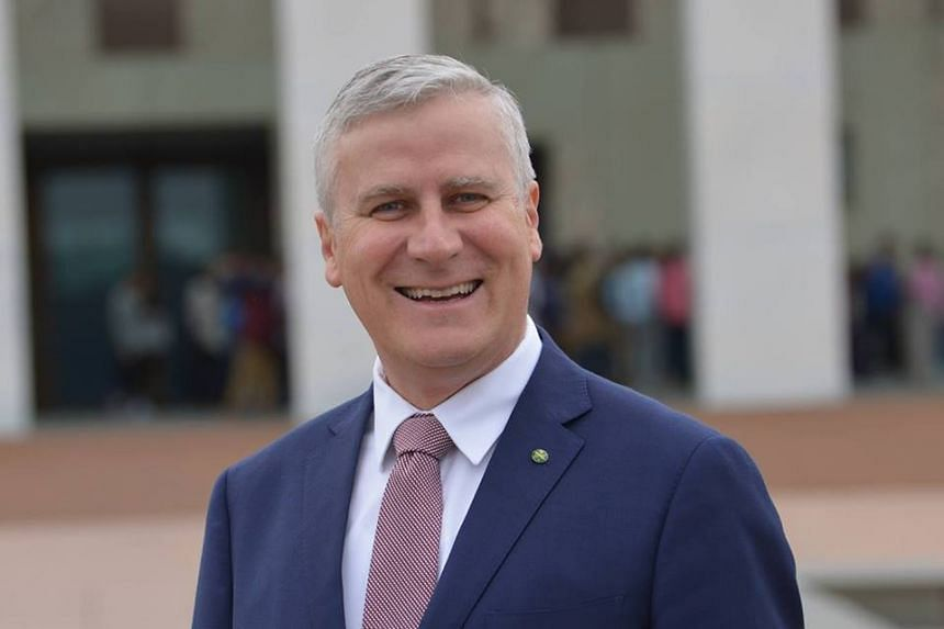 McCormack (above) replaces former deputy prime minister Barnaby Joyce.