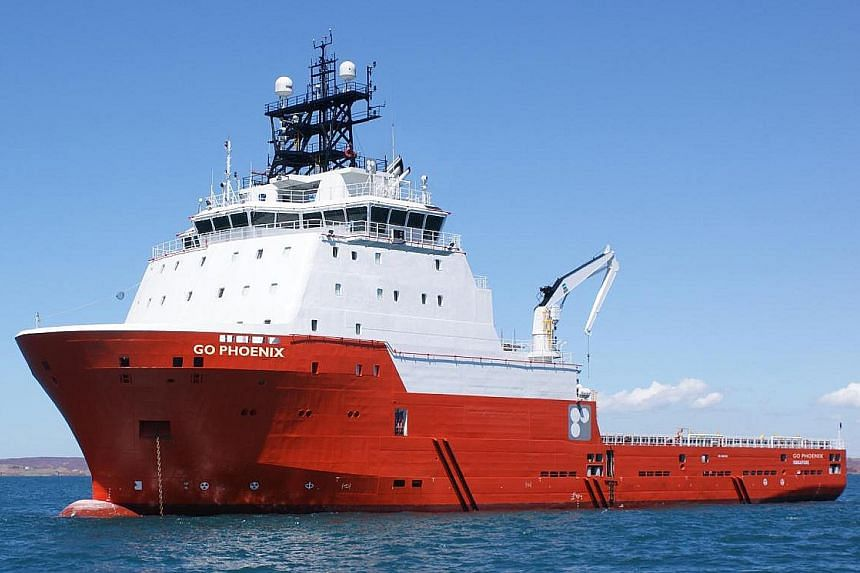 An Otto marine vessel. Like many other players in the offshore marine sector, Otto Marine took a battering when plunging crude oil prices in 2014 drove down demand for offshore vessels and shipbuilding.