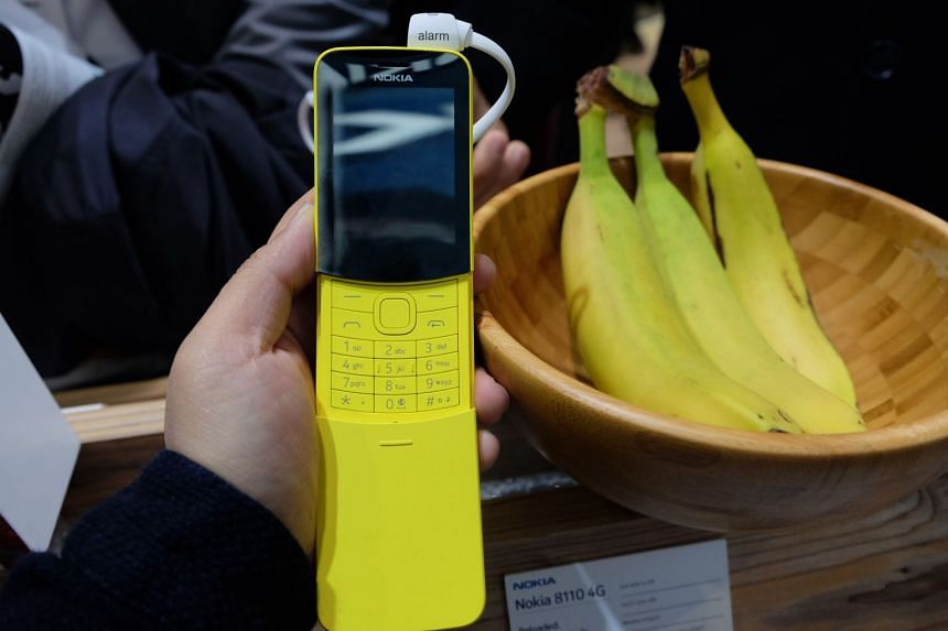 """The Nokia 8110 was made famous as the """"banana phone"""" in the 1999 movie, The Matrix."""