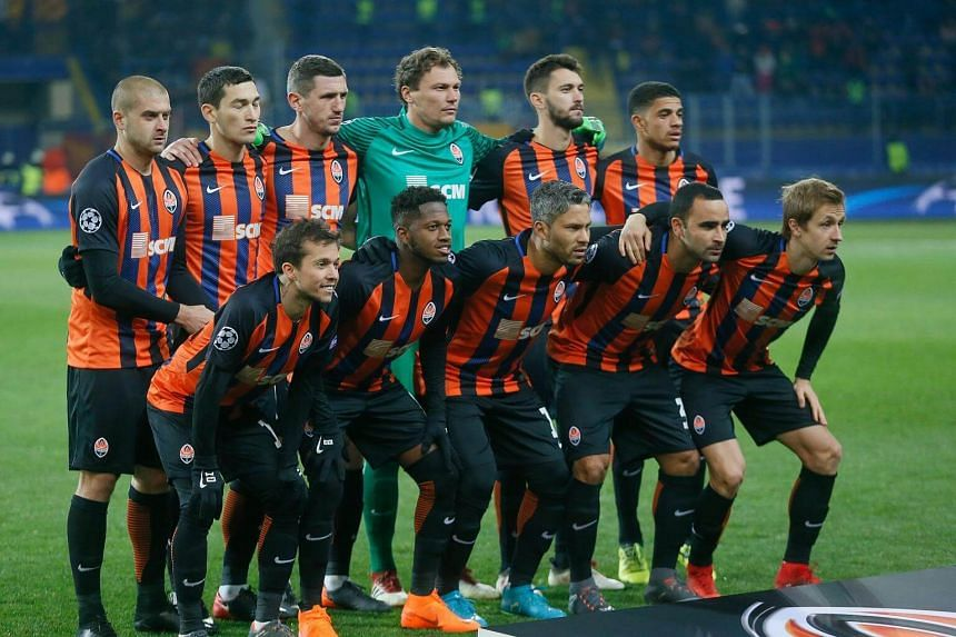 Shakhtar was the first team to beat English Premier League leaders Manchester City this season.