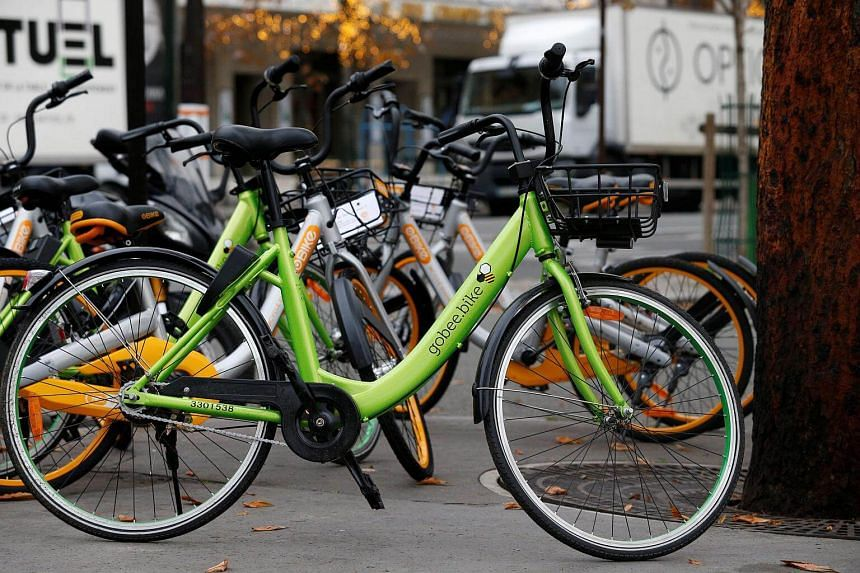 Gobee.bike said 'more than a thousand bikes' had been stolen and almost 3,400 damaged nationwide.