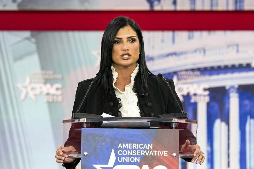 National Rifle Association spokesperson Dana Loesch speaks at the 45th annual Conservative Political Action Conference on Feb 22, 2018.