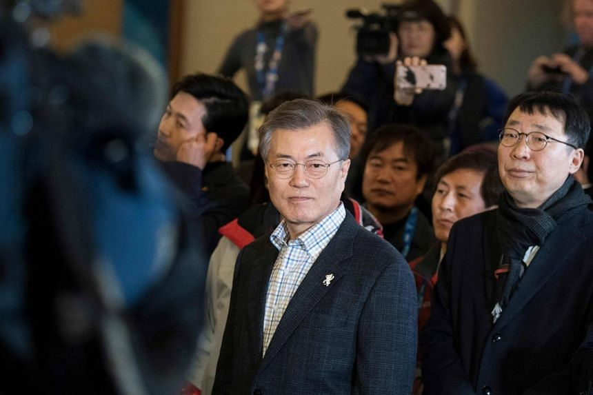 An official involved with nuclear issues said South Korean President Moon Jae In was seeking a way to carry out planned military exercises that won't prompt a response from North Korea.