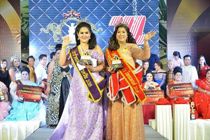 Kwanrapi Boonchaisuk, daughter of former Thai industry minister Prasert Boonchaisuk, was crowned Jumbo Beauty Queen and Miss Congeniality at a pageant in Thailand.