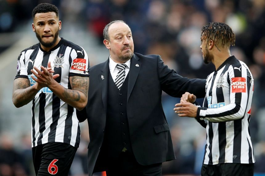 Newcastle manager Rafa Benitez says his team needed more experience to help them through tough situations.