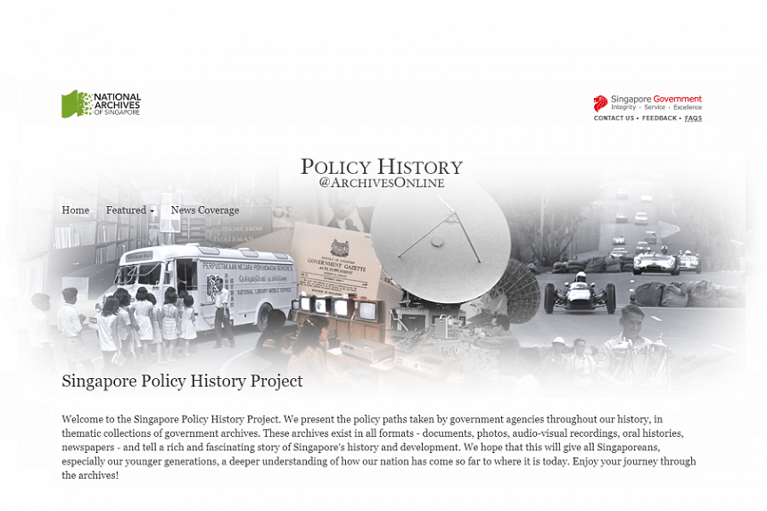 Three new themes have been recently added to the Singapore Policy History Project.
