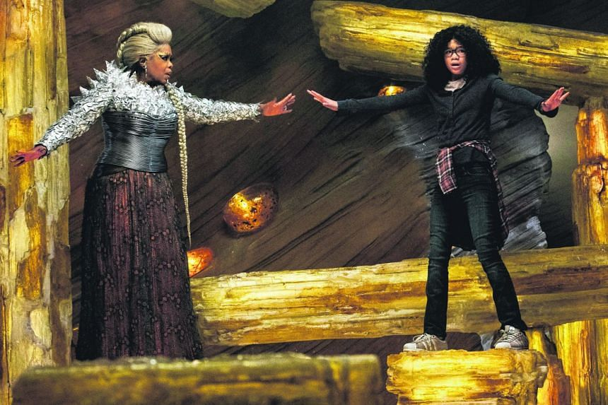 Oprah Winfrey (left) and Storm Reid (right) in A Wrinkle In Time.