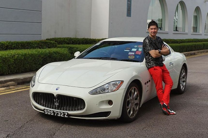 Mr Freddy Sim is not quite ready to part with his Maserati GranTurismo yet.