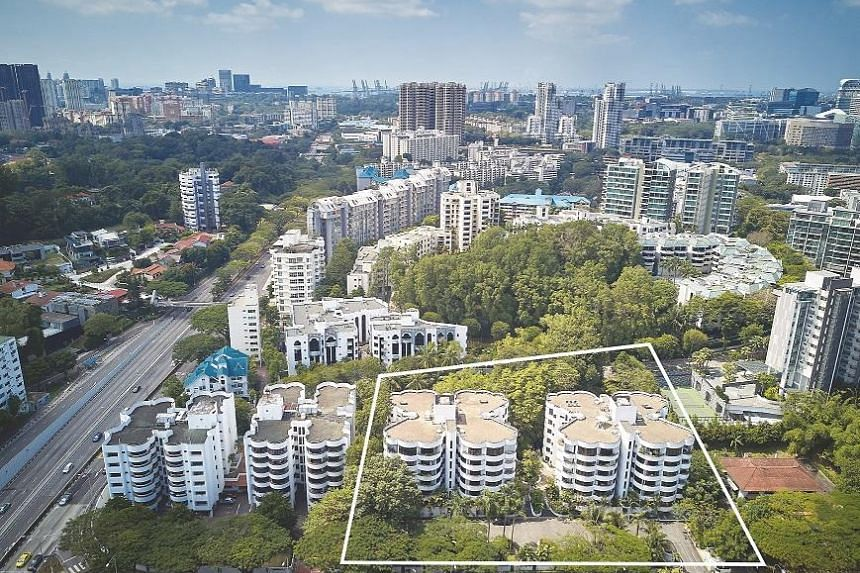 """The Estoril sits on a site area of about 84,600 sq ft and zoned """"residential"""" with a height control of up to 12 storeys."""