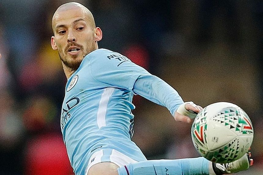 Another City stalwart David Silva added the icing on the cake with City's third goal in the 65th minute.