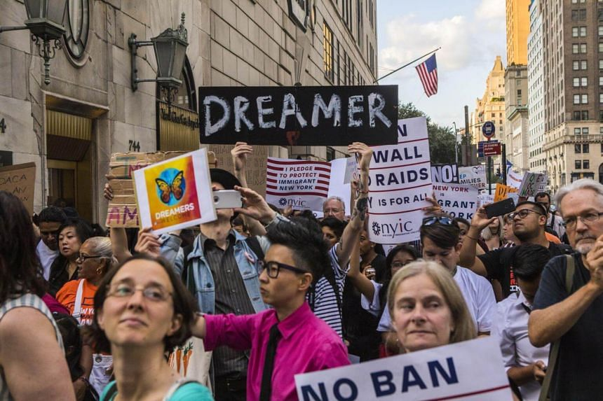 The US Supreme Court's decision means that the immigrants could remain in legal limbo for many months.