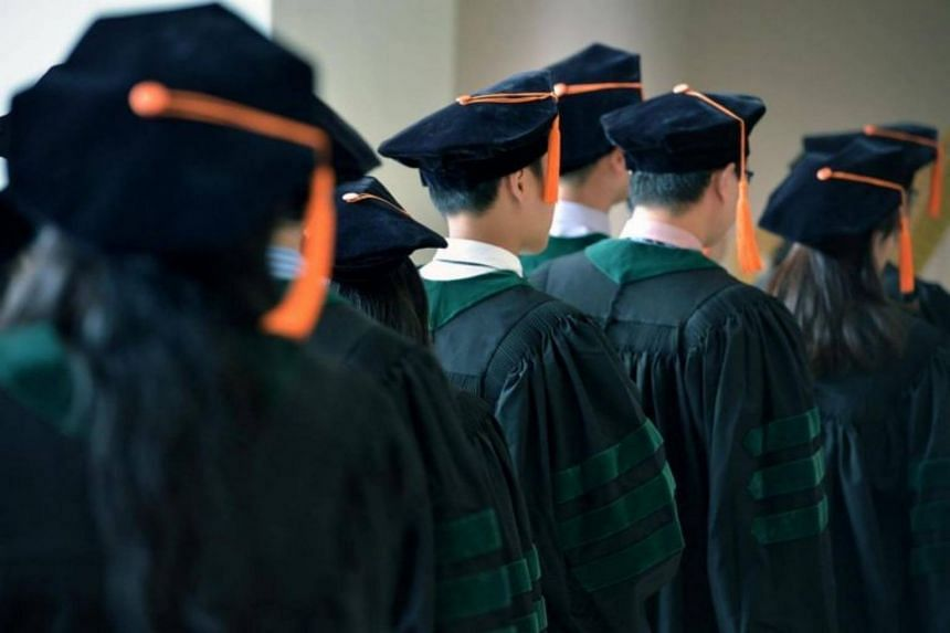 Nearly nine in 10 graduates, or 88.9 per cent, found jobs within six months of their final examinations, down from 89.5 per cent in 2016.