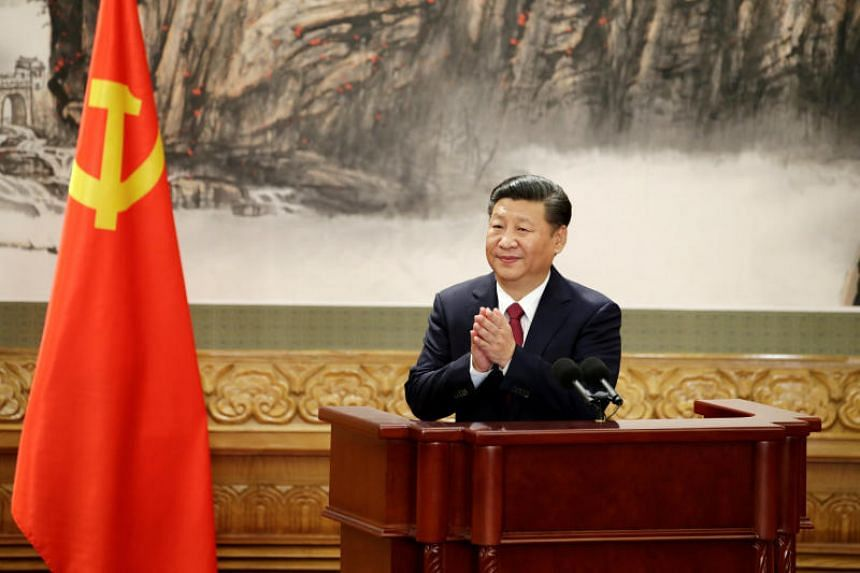 Xi Jinping presented China as a new model for the developing world - a thinly veiled argument that the United States and Europe were no longer as attractive as they once were.