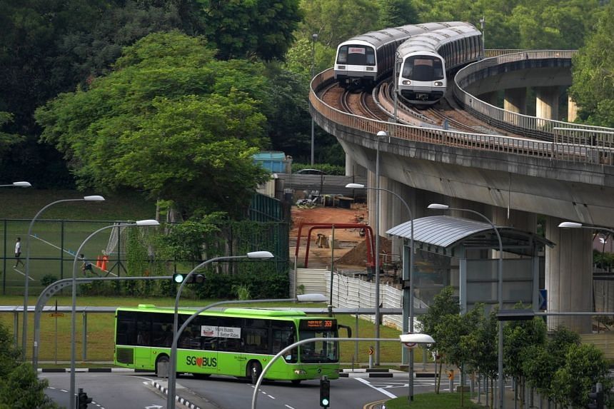 Rail and bus rides inched upwards by 0.7 per cent to 7.264 million a day, up from 7.214 million the year before.