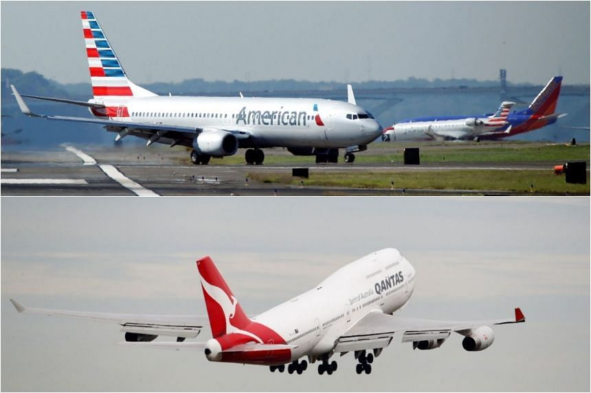 American Airlines Group and Qantas Airways' application for a joint venture covering the United States, Australia and New Zealand was rejected in 2016.