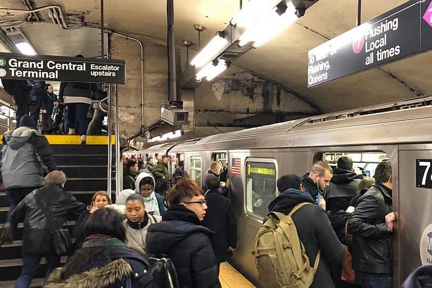 Rush hour at Grand Central. At 5.8 million passengers a day, overcrowding is often cited as a reason for delays.