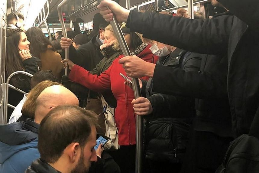 New York's subway carries 5.8 million passengers a day.