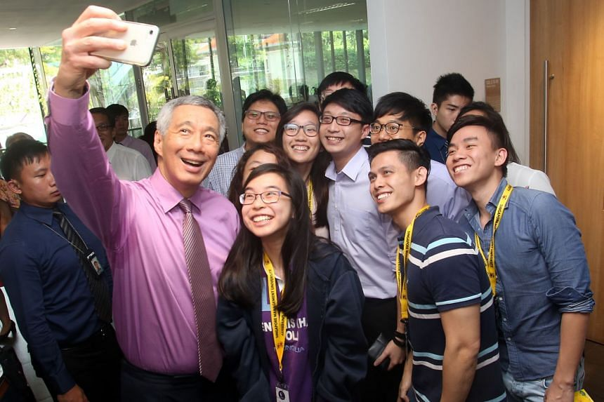 Prime Minister Lee Hsien Loong officially opened the School of Law Building and Kwa Geok Choo Law Library last March. PHOTO: SMU
