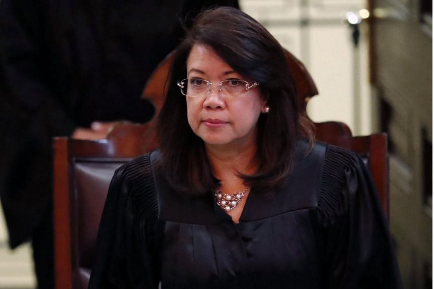 """Chief Justice Maria Lourdes Sereno would be taking a 15-day """"wellness leave"""" starting on March 1, 2018, two weeks ahead of schedule, so she can prepare for an expected impeachment trial before the Senate."""