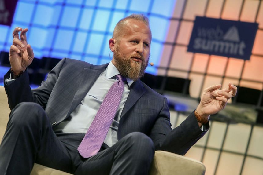 Parscale speaking at the 7th Web Summit in Lisbon, Portugal, in November 2017.