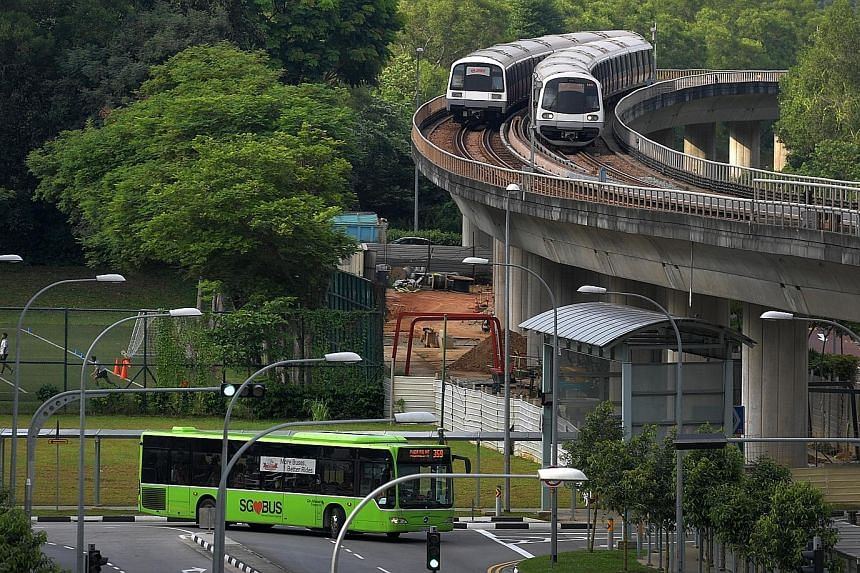 Last year's almost-flat public transport ridership growth came despite the opening of new rail lines and extensions, more buses being introduced and a continued shrinkage in the private passenger car population. As of the end of last year, there were