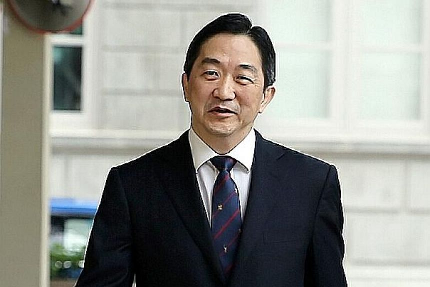 """John Soh Chee Wen, accused of masterminding the 2013 penny stock crash, was deemed a """"flight risk"""". The Malaysian has """"his ways and means to leave Singapore undetected"""", said Justice Hoo Sheau Peng."""