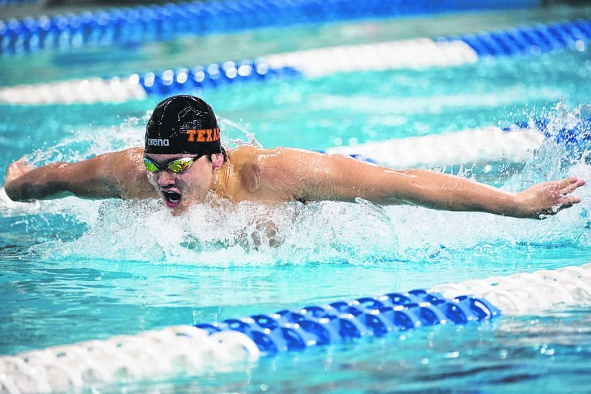 Joseph Schooling is hoping his reduced intensity before his final NCAA meet will bear fruit in his favoured butterfly events.