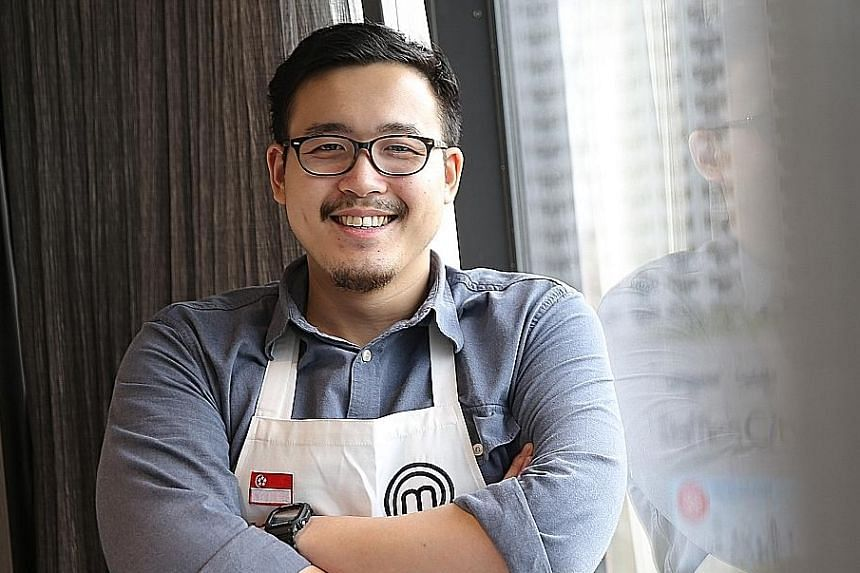 Singaporean cook Woo Wai Leong (left), who won the first edition of MasterChef Asia, the Asia-wide edition of the show in 2015, says having the Singapore show shot in English would be the most inclusive for home cooks keen to join the show.