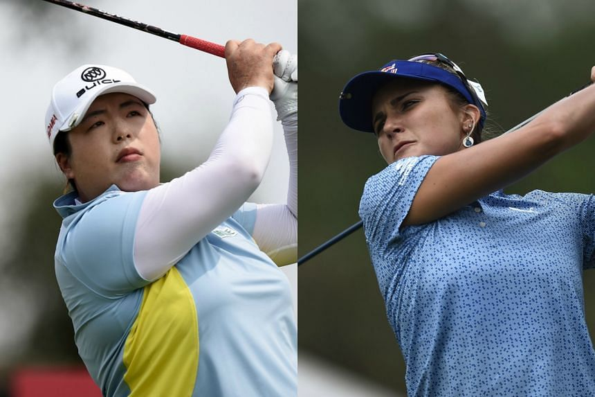 China's Feng Shanshan (left) and US' Lexi Thompson are fired up for this week's HSBC Women's World Championship and seeking an early-season win.