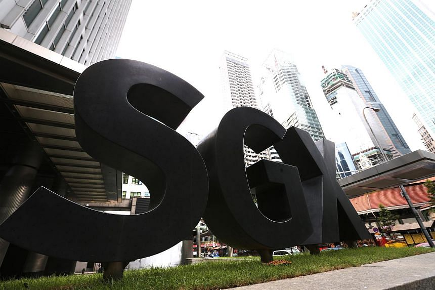 On the Singapore bourse, about 99.6 million shares worth S$332.2 million changed hands.