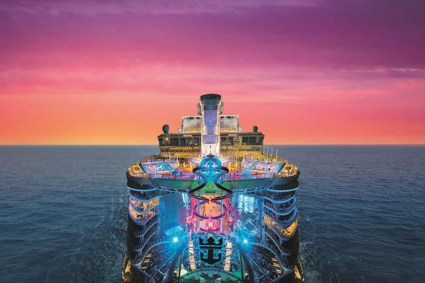 Royal Caribbean's Harmony Of The Seas cruise ship.