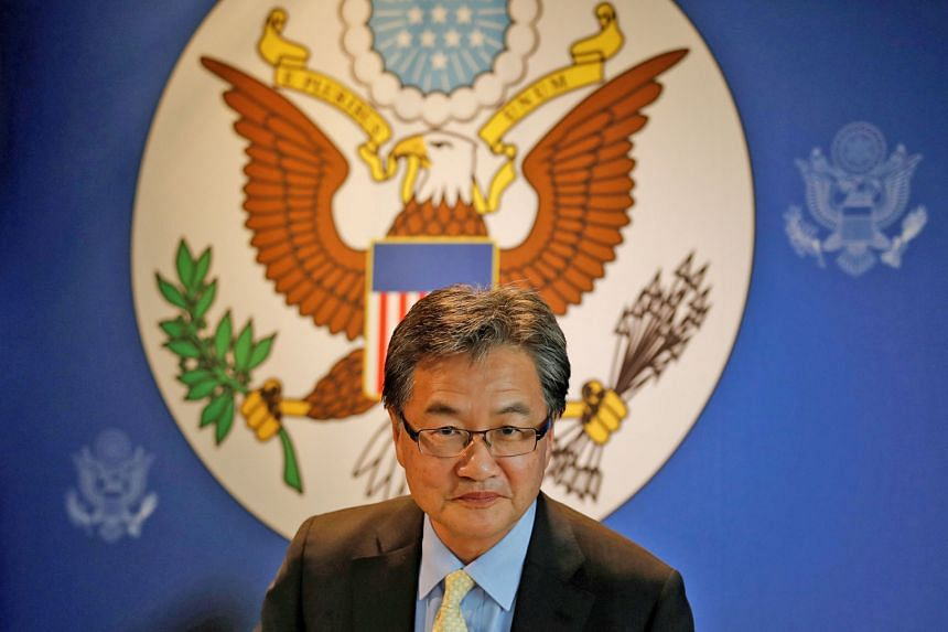 Mr Joseph Yun joined the US State Department in 1985 and was the main person dealing with the North Korea issue, travelling to Seoul and Tokyo frequently to coordinate with the Washington allies.