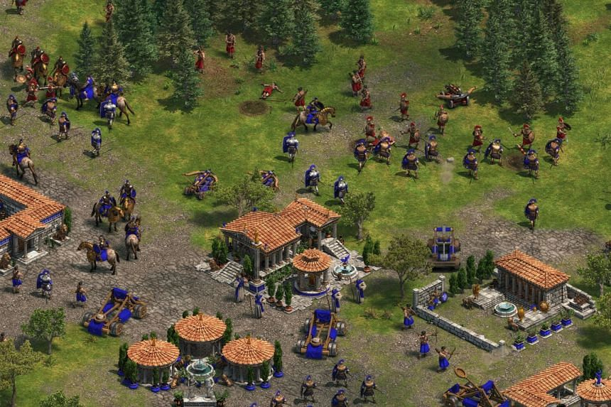 The pace of Age Of Empires can become frantic as players need to micro-manage harvesting, construction and combat all at the same time.