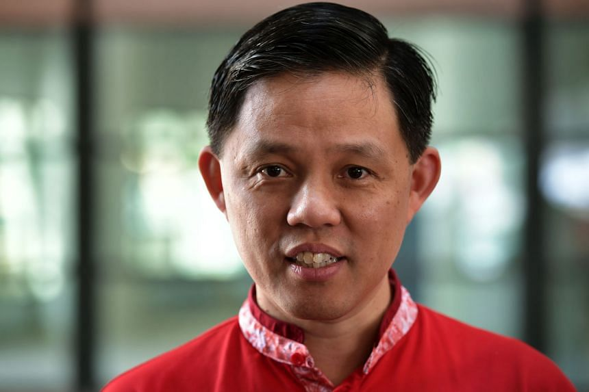 CHAN CHUN SING, 48, Minister in the Prime Minister's Office