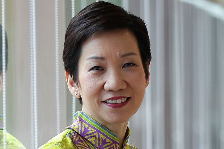 GRACE FU, 53, Minister for Culture, Community and Youth