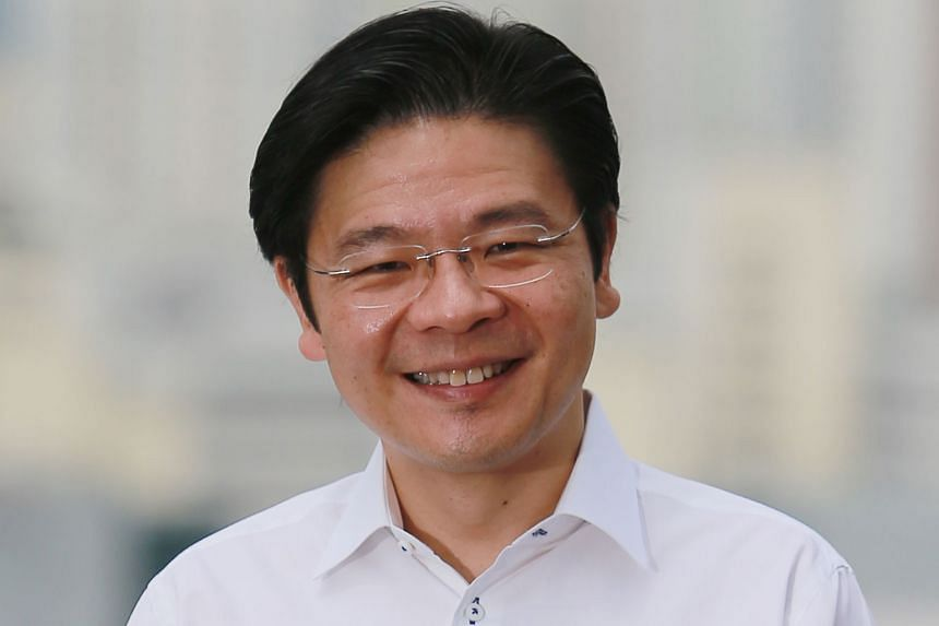 LAWRENCE WONG, 45, Minister for National Development