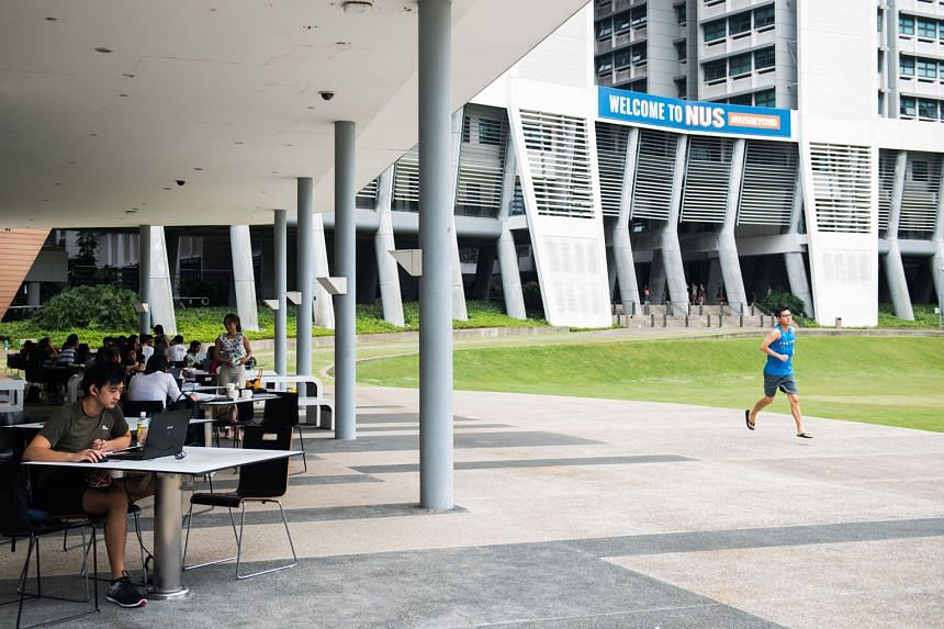 """NUS is increasing the number of double majors to expand its graduates' career options as """"the nature of work is changing very rapidly"""", says its provost Ho Teck Hua."""