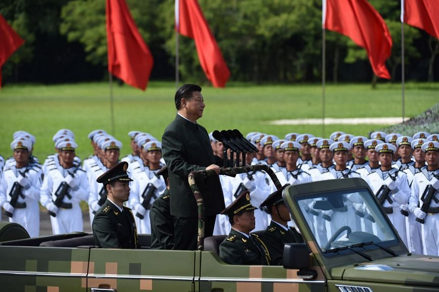 Chinese President Xi Jinping pledged in October last year to turn China's military into a world-class fighting force by 2050, and has made new technology development a key policy plank.