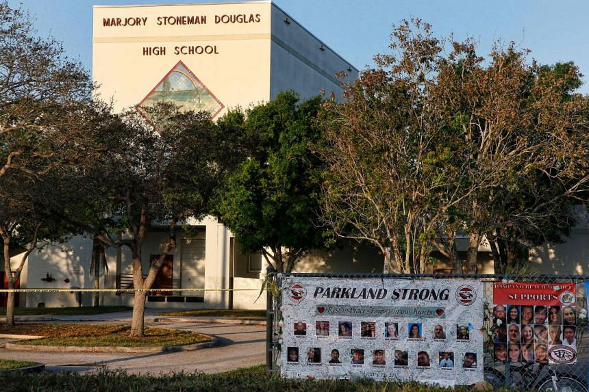 Marjory Stoneman Douglas High School was set to reopen its doors for a half-day schedule on Feb 28, 2018.
